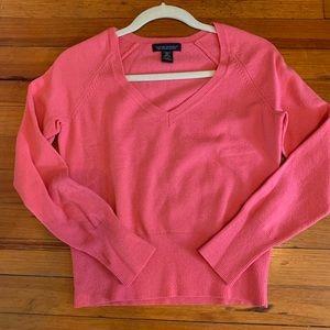 Banana Republic Pink Merino Sweater Size Medium